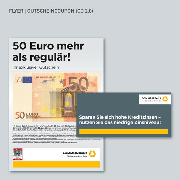 Flyer, Gutscheincoupon, CD 2.0